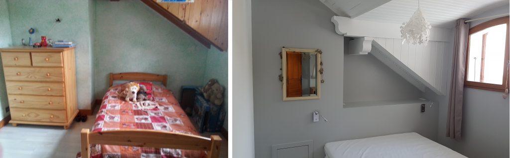 Peinture chambre et caisson