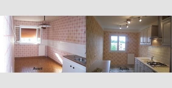 Aménagement d'une cuisine en couloir