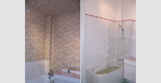 Faïence murale et remplacement de baignoire