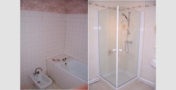 Réaménagement d'une salle de bains