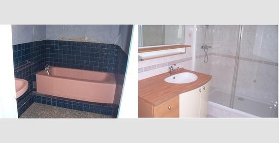 Remplacement d'une baignoire en fonte