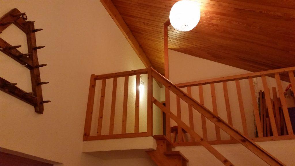 Garde corps d'escalier