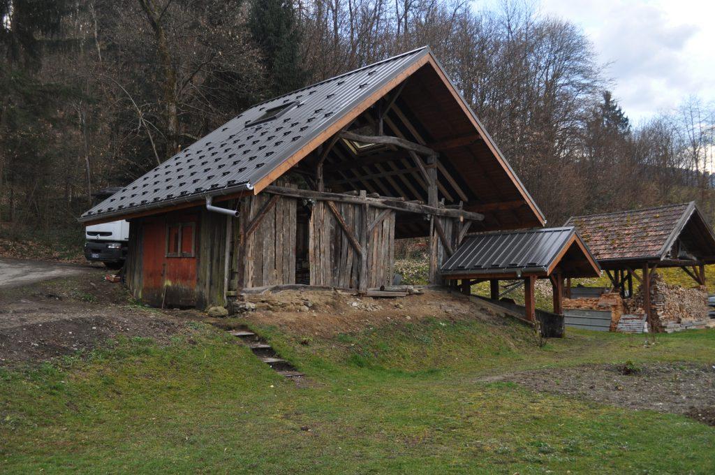 Grange de plus de 100 ans